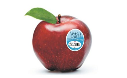 fruit wash label